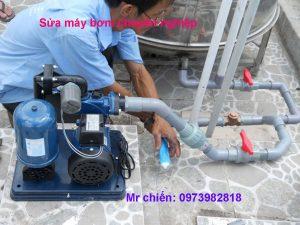 thợ sửa máy bơm nước giá rẻ