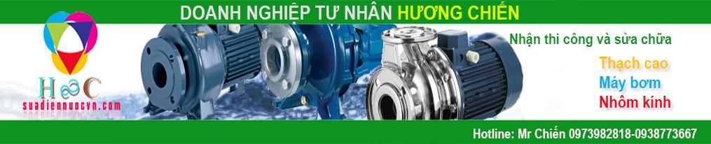 Thợ sửa chữa điện nước – Máy Bơm nước tại TPHCM