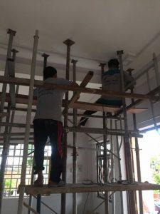 Sửa nhà 1 tầng thành 2 tầng